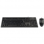 Tastatura KR 8520D mouse optic OP 620D Kit USB