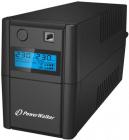 UPS line interactiv 850VA 480W iesire 2xShuko baterie 12V 9Ah Powerwal