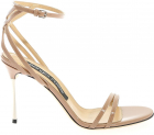 Godiva Stell Sandals In Nude Color
