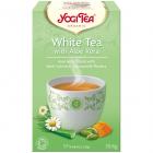 Ceai Bio Alb cu Aloe Vera 17 pliculete 30 6 grame