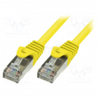 Patchcord CP2077SCat6 5m Yellow
