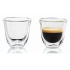 Pahare Delonghi espresso 2 buc 60 ml