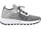 Prax 01 Knit Prada Silver Sneakers