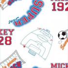 Rola tapet 10 X 0 52 m Mickey Footbal TA71999