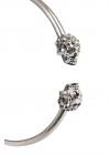 Skull Creole Earrings