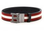 Reversible Belt Stripe B Buckle