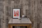 Panouri decorative din lemn Barnwood Driftwood Grey 6 pl ci 80x10x9 5