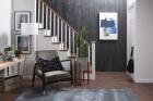 Panouri decorative din lemn Shiplap Black 4 pl ci 240x12 5x1 5 cm