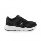 Pantofi sport femei Thezeus negri din piele intoarsa 3730DPS2420VN