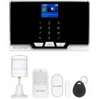 Sistem de securitate cu alarma BW IS6 Set WiFi 2G RF 433MHz Alb