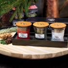Set cadou lumanari parfumate Woodwick Woodland