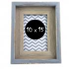 Rama foto Ida 10x15 cm lemn Gri