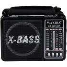 Radio portabil XB 1091G Retro Negru