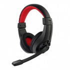 Casti gaming GHS 01 Black Red