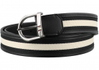 Darkon Fabric Belt In Black