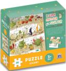 In lumea fructelor i a legumelor cu micul c el de usturoi Puzzle gigan