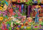 Puzzle Bluebird Aimee Stewart The Scarecrows Garden 1 000 piese Bluebi