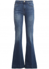 Flora 12 Flared Jeans In Blue