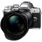 Aparat foto Mirrorless E M10 Mark III 16 1 Mpx Silver Kit M ZUIKO DIGI