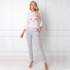 Pijamale dama Therry 2 piese pantaloni lungi
