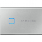 SSD Extern T7 Touch 2TB USB 3 2 2 5 inch Metallic Silver