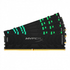 Memorie HyperX Predator RGB 64GB 4x16GB DDR4 3600MHz CL17 Quad Channel