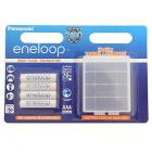 Panasonic Eneloop R03 AAA 750mAh 4 Pcs Blister BOX BK 4MCCEC4BE