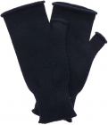 Wool And Cashmere Gloves In Blue