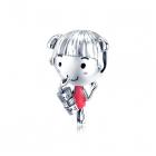 Talisman din argint Ice Tea Girl