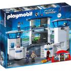 Set Playmobil City Action Police Sediu de Politie cu Inchisoare