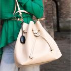 Dispozitiv alarma si localizare pentru poseta Elle Protective Bag Char