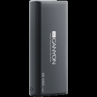 CANYON Power bank 20000mAh Li poly battery Input 5V 2 1A Output 5V 2 1