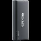 CANYON Power bank 20000mAh Li poly battery Input 5V 2 1A Output 5V 2 1