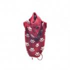 Pulover rosu tricotat pentru caini Vesto L 32 cm