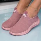 Adidasi Dama Textil Roz Nigarish B9010