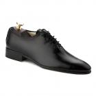 Pantofi de Ceremonie din Piele Naturala Neagra 731