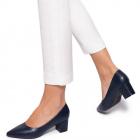 Pantofi dama Sossy cu design simplu Bleumarin