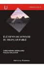 Elements de Syntaxe du francais parle Sanda Maria Ardeleanu Raluca Bal
