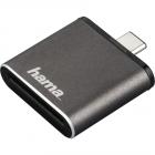 Cititor de carduri OTG USB 3 1 Tip C UHS II SD Gri