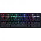 Tastatura gaming One 2 mini V2 RGB Cherry MX Silent Red Mecanica