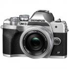 Aparat foto Mirrorless E M10 Mark IV Silver Obiectiv M Zuiko Digital E