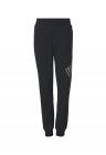 Pantaloni sport conici cu banda elastica in talie