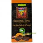Ciocolata Amaruie Vegana cu Portocale si 55 Cacao Ecologica Bio 80g