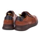 Pantofi barbati din piele naturala maro 1046