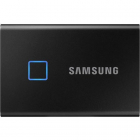 SSD Extern T7 Touch 500GB USB C 3 1 Metallic Black