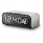 Radio cu ceas 4 Incarcare Wireless 10W Qi Charger FM Radio Bluetooth N