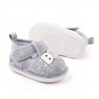 Sandalute gri pentru fetite Buburuza