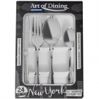 Set tacamuri Art of Dining 24 piese New York