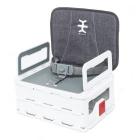 Scaun de masa ultra pliabil Nikidom Flat Pack Booster Gri portabil 6 3