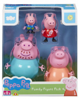 Set figurine Peppa Pig Family pack